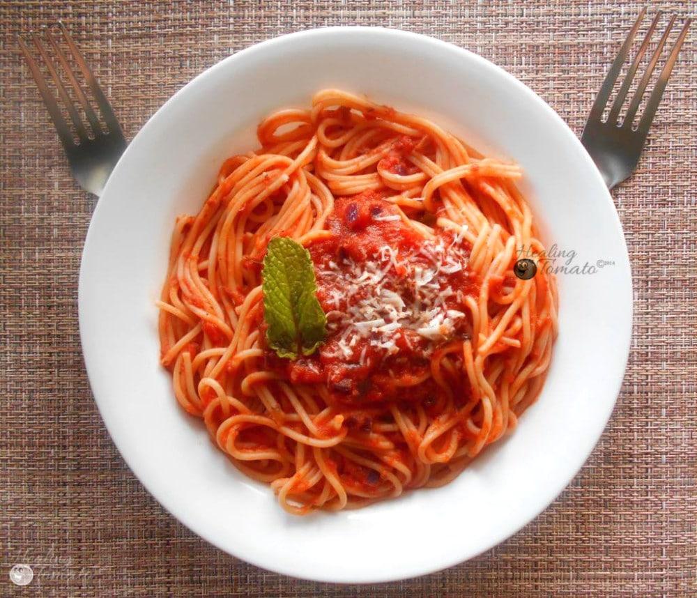 The Magical 9 Tomato Marinara Sauce
