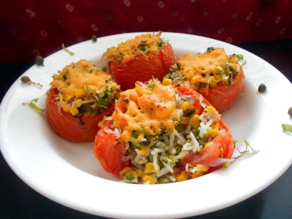 Stuffed Tomatoes - Healing Tomato