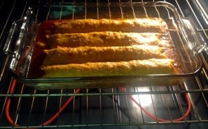 enchilada-in-oven
