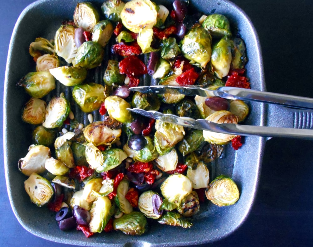 Brussels sprouts Mediterranean style
