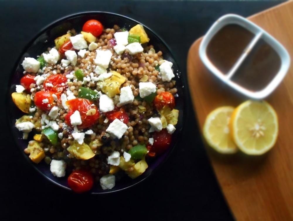 Mediterranean Couscous Salad - Healing Tomato's Blog