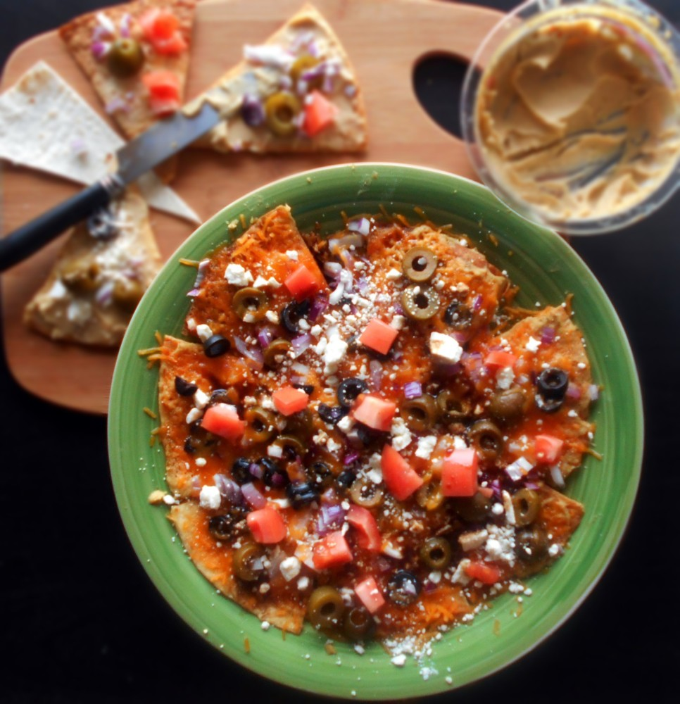 Greek Nachos Recipe (Vegetarian)