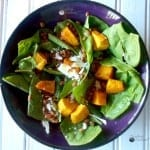 Lentil Salad with Spiced Pumpkin