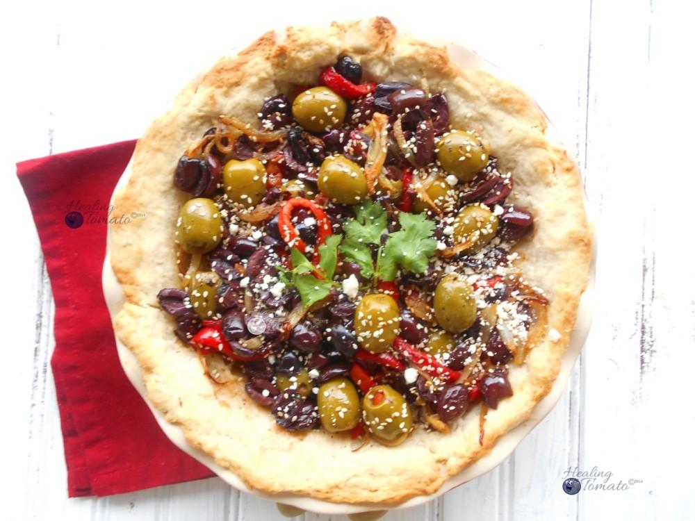 Mezzetta Recipe for Olive Pie
