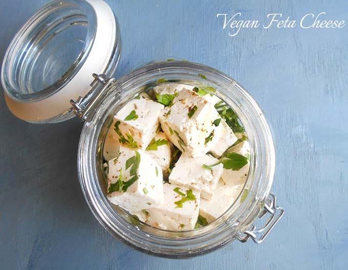 Vegan Feta Cheese – Homemade